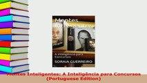 PDF  Mentes Inteligentes A Inteligência para Concursos Portuguese Edition  Read Online