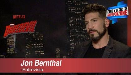 "A solas con Jon Bernthal de ""Daredevil"" por Javier Ponzone"