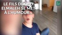 Le fils de Gad Elmaleh s'essaye à l'humour sur Instagram