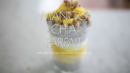 Mango Chia Pudding Parfait