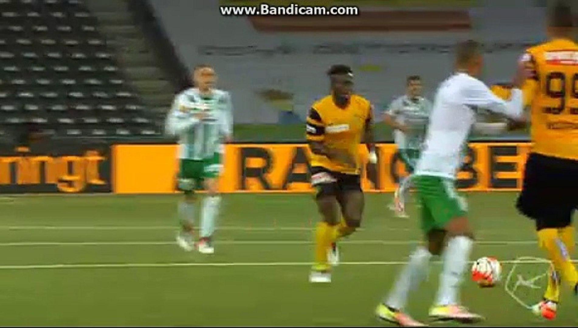 Sanogo Amazing GOAL (2:0) Young Boys Bern vs St Gallen  (2016.05.12)