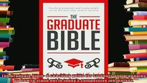best book  The Graduate Bible A coaching guide for students and graduates on how to stand out in
