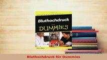 Download  Bluthochdruck für Dummies  EBook