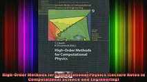 READ book  HighOrder Methods for Computational Physics Lecture Notes in Computational Science and Full Free