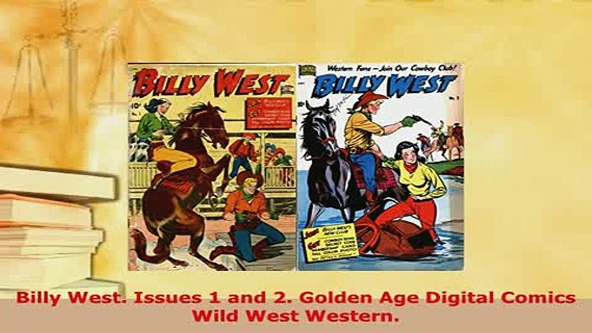 Download  Billy West Issues 1 and 2 Golden Age Digital Comics Wild West Western PDF Book Free