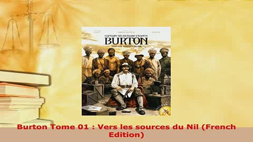 Download  Burton Tome 01  Vers les sources du Nil French Edition Download Full Ebook