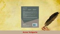 PDF  Acne Vulgaris  Read Online