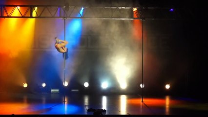 Pole dancers in hot action Sexpo Sydney 2016