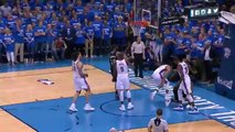 Andre Roberson Blocks Kawhi Leonard - Spurs vs Thunder - Game 6 - May 12, 2016 - 2016 NBA Playoffs