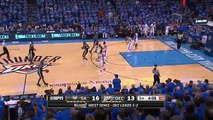 Kawhi Leonard And-One - Spurs vs Thunder - Game 6 - May 12, 2016 - 2016 NBA Playoffs