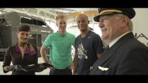 Joe Hart - Manchester City FC – Simulator Challenge – Etihad Airways