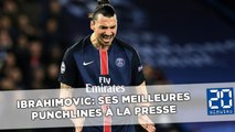 Zlatan Ibrahimovic: Ses meilleures punchlines