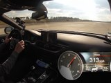 0 - 300 km/h en Audi RS7 Performance 2016