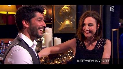 Elsa Zylberstein et Dominique Besnehard dans l'interview inversée de Noman Hosni