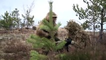US Military Snipers - US Soldier Shooting the Monstrously Powerful US .50 Sniper Rifle & Barrett M10