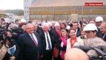 Brest. Ségolène Royal inaugure la seconde hydrolienne du parc pilote d'EDF