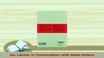 Download  Jac Leirner in Conversation with Adele Nelson Free Books