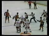 Jan 7, 1984 Bobby Clarke Slashed By Claude Loiselle Philadelphia Flyers vs Detroit Red Wings