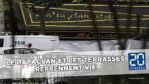 Attentats de Paris: Six mois après, le Bataclan et les terrasses reprennent vie