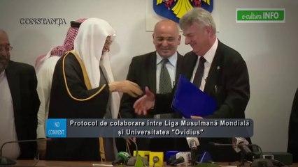 Protocol de colaborare între Liga Musulmană Mondială și Universitatea Ovidius din Constanta