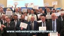 12 mai 2016 : signature de 80 conventions d'appui financier Territoire à énergie positive pour la croissance verte