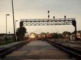 RARE 2 Train Meet! BNSF #4872 and EJ&E #658! JOLIET IL.