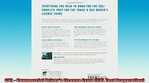 EBOOK ONLINE  CDL  Commercial Drivers License Exam CDL Test Preparation READ ONLINE