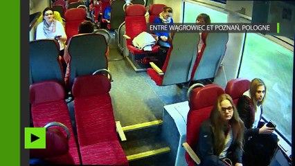 Collision impressionnante en Pologne : le conducteur du train a eu le bon réflexe