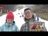Hài hước với lần đầu trượt tuyết của Thiên Vương - Cát Tường.
