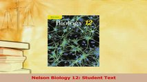 PDF] Nelson Biology 12: Student Text Full Colection - video dailymotion