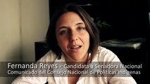 CNPI  - Argentina - Comunicacion 15 Bienvenida al Pueblo Kom Fernanda Reyes Cand. Senadora Nac.
