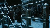 Game Of Thrones 6x03 Jon Snow Hangs Olly & The Men Who Killed Him Then Leaves The Nightswatch