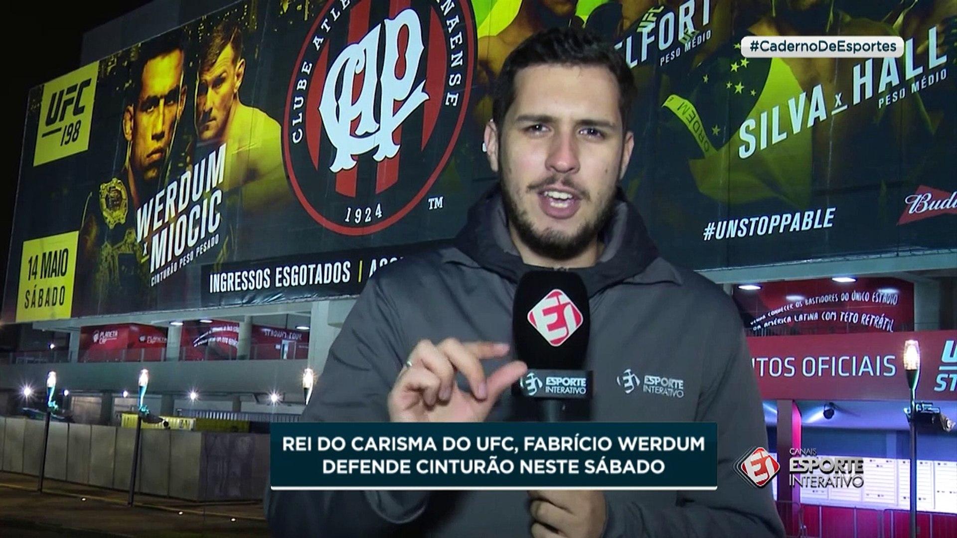 Rei do carisma, Fabrício Werdum defende cinturão no UFC 198