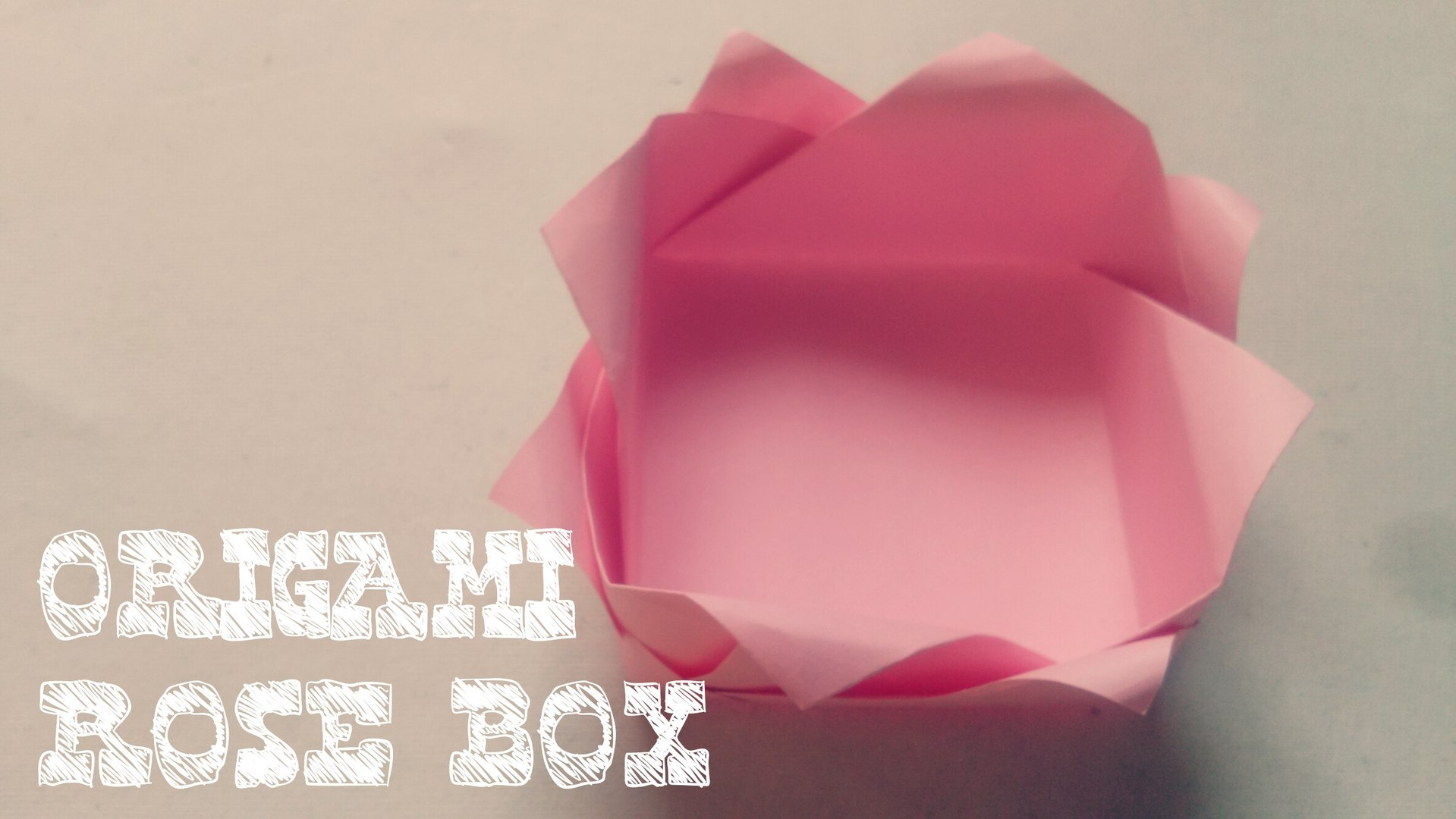 How To Make an Origami Magic Rose Cube (Valerie Vann) - YouTube | 1080x1919