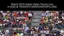 Watch Richard Gasquet v Kei Nishikori - Italian Open TV - Day 4
