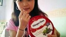 Haagen-Dazs ice cream( 試食)