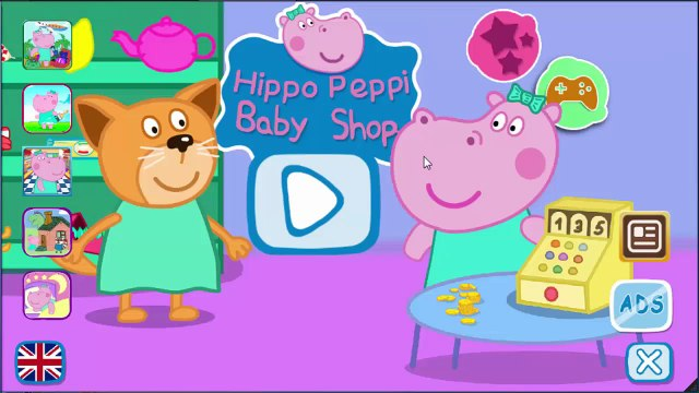 Peppa Pig English Shopping 2 | Games For Kids | Gameplay Peppa Pig VickyCoolTV