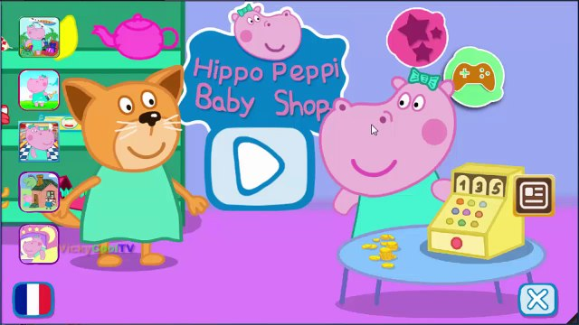 Peppa Pig En Francais Shopping 2 | Jeux Pour Enfants | Jeux Peppa Pig VickyCoolTV