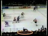 Apr 4, 1985 Duane Sutter vs Steve Smith New York Islanders vs Philadelphia Flyers