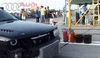 Audi 200 Quattro Turbo Vs. Honda CRX Turbo