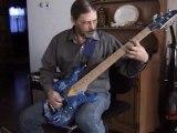 Epic win Lego Bass Amazing 5 String Custom Bass Guitar