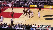 Bismack Biyombo Throws Down Put Back Dunk, Blocks Wade, Then Throws Down Another Dunk