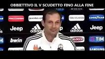 Conferenza Stampa Integrale Allegri pre Juventus-Sassuolo 29^MAX risponde a Sacchi