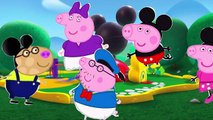 Peppa Pig  Finger Family - Peppa Pig Mickey Mouse finger family \ nursery rhymes and more lyrics