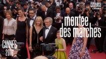 Le Bon Gros Géant (Spielberg) - Montée des Marches par Laurent Weil - Cannes 2016 CANAL+