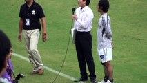 2010 J2#27 FC岐阜 vs 大分トリニータ 押谷祐樹MOTMインタビュー