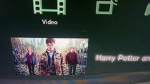 Opening to Harry Potter and the Deathly Hallows: Part 2 (Disc 2/Bonus Disc) Blu-ray