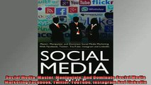 FREE EBOOK ONLINE  Social Media Master Manipulate And Dominate Social Media Marketing Facebook Twitter Full EBook