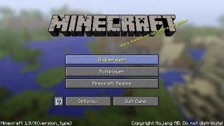 Minecraft parodie 1 Dil Jak si zalozit novy svet