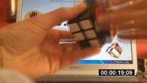Armando el cubo de rubik |1 MINUTO 17 SEGUNDOS|